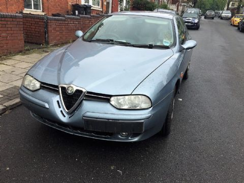 ALFA ROMEO 156 1.9JTD ESTATE BREAKING AZZURRO GABBIANO 693  - REAR BOOTLID